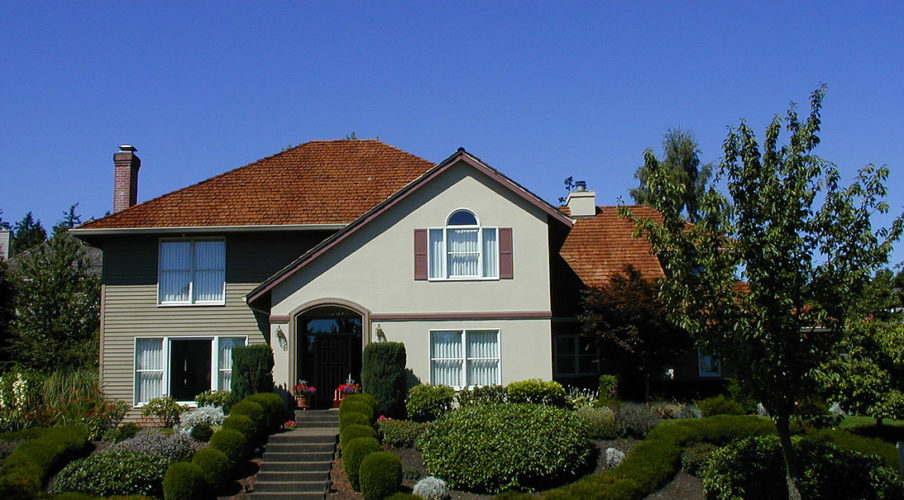 exterior house painting in West Linn