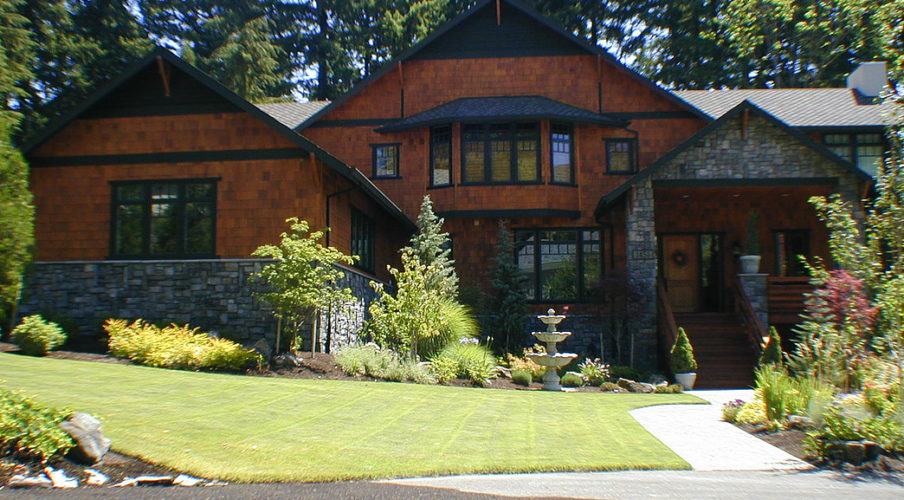 Exterior house painting and staining in west linn